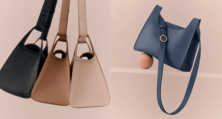 Model with Double Loop Bag