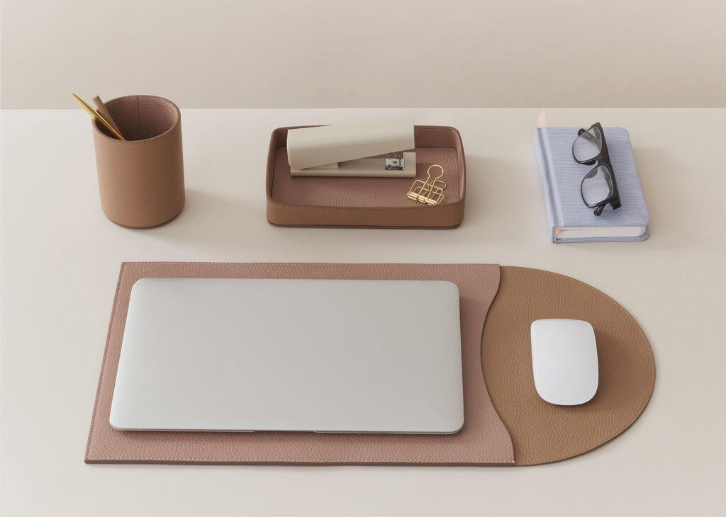 Cuyana Leather Desk Accessories