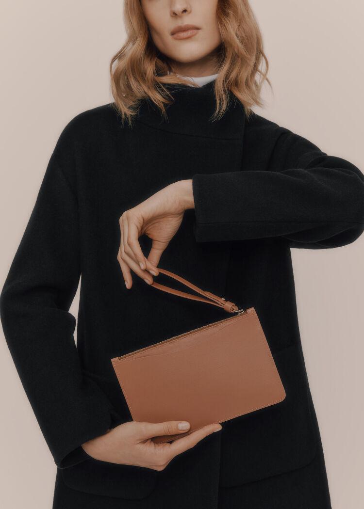 Cuyana Slim Wristlet Wallet