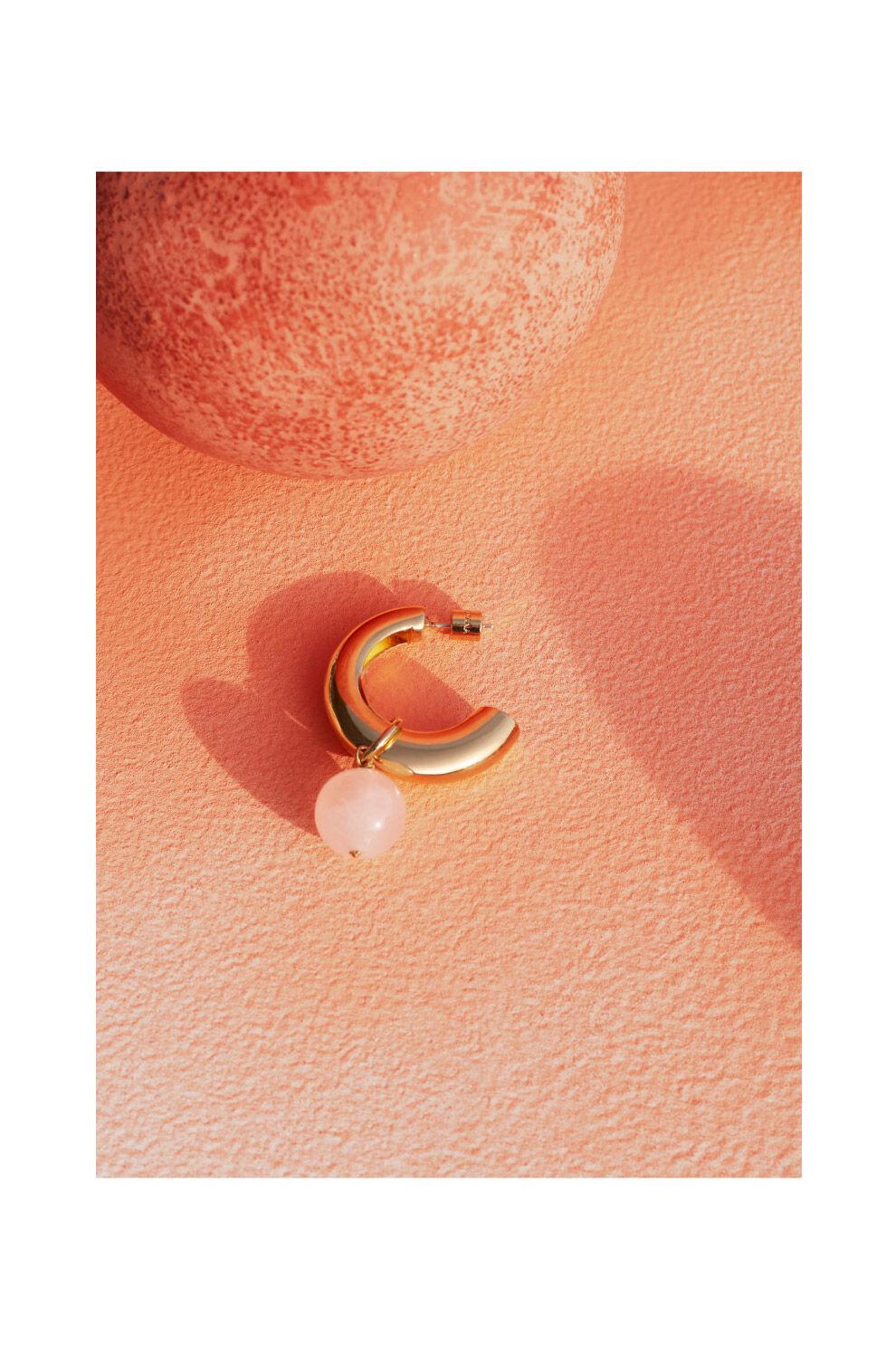 Cuyana Rose Quartz Embellishment