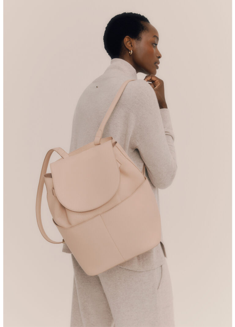 Cuyana Backpack in Blush