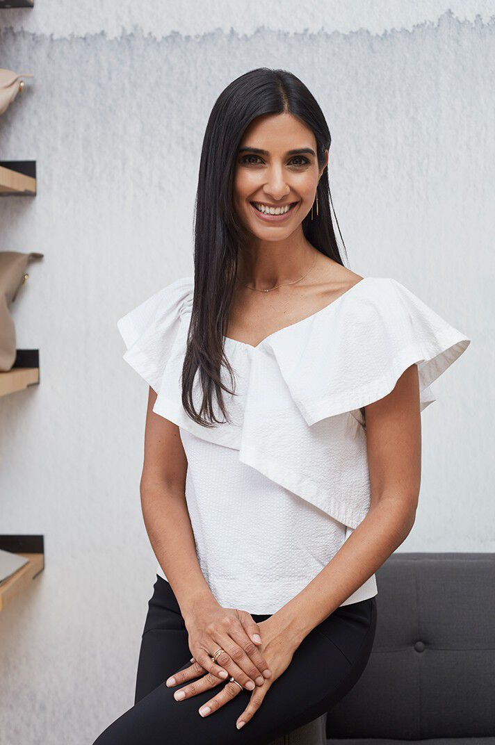 portrait of Shilpa Shah CoFounder and CXO of Cuyana