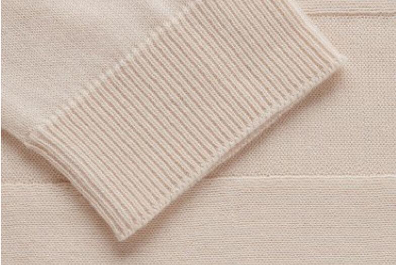 Cotton cashmere close up shot
