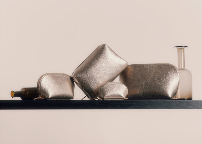 Cuyana small leather goods in Champagne