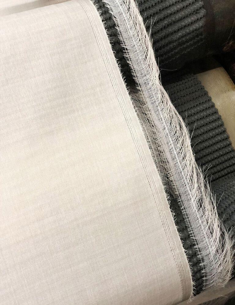 Raw silk fiber