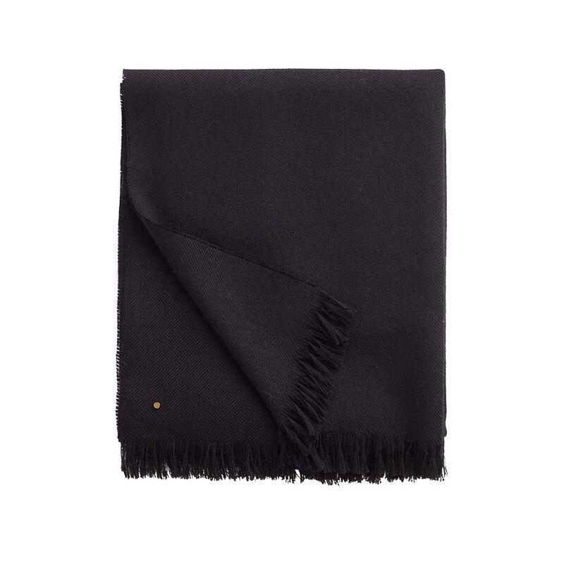 Alpaca Scarf in Black