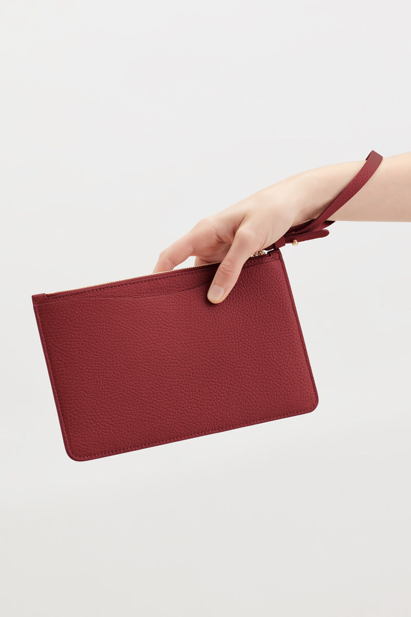Slim Wristlet Wallet in Ruby