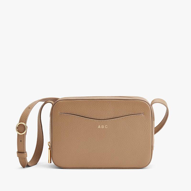 Camera Bag in Cappuccino