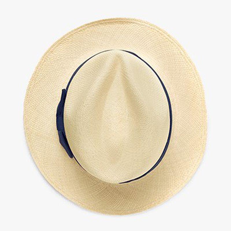 Panama Hat, Natural/Navy, large