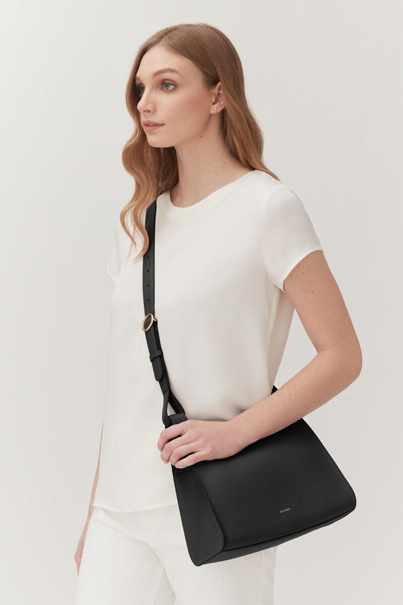 Double Loop Bag in Black