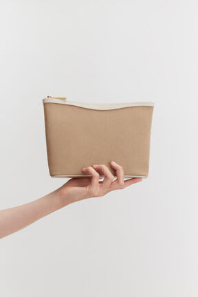 Small Canvas Zipper Pouch