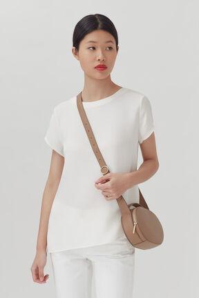 Top Handle Crossbody Bag, Cappuccino, plp