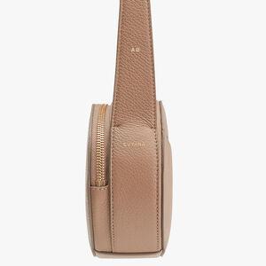 Top Handle Crossbody Bag, Cappuccino, mono-gallery