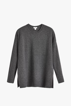 Recycled Cashmere Crewneck Sweater