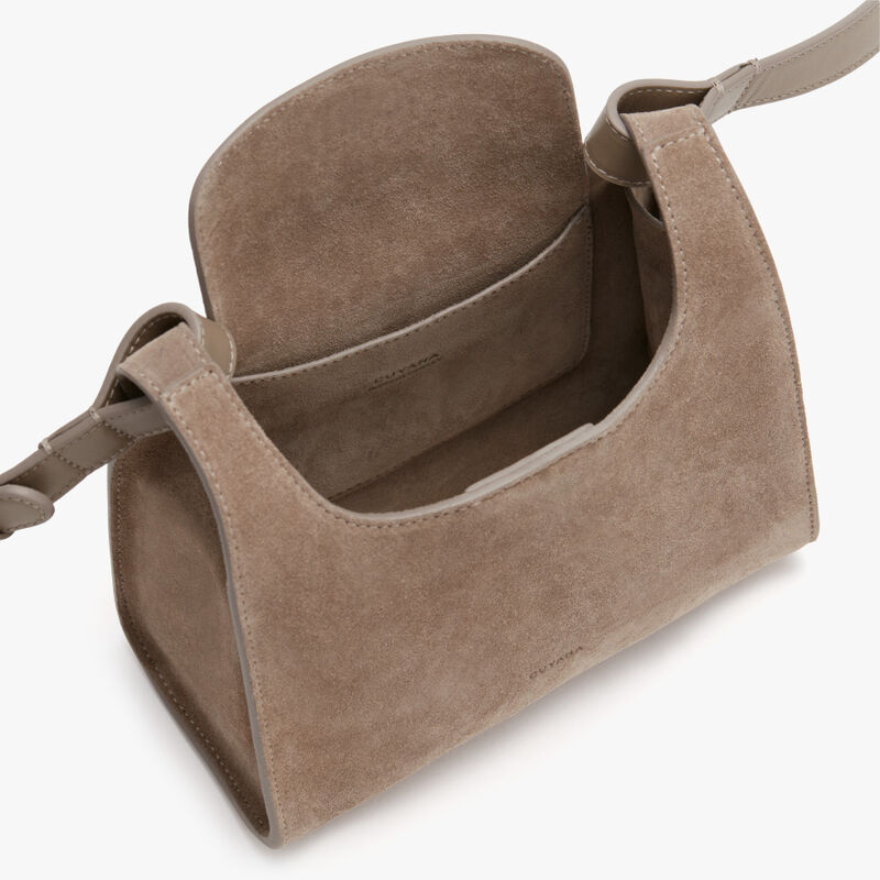 Mini Double Loop Bag, Taupe (Limited Edition), large