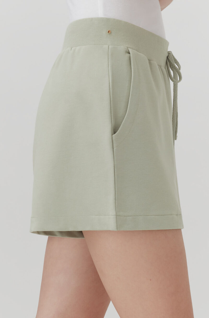 French Terry Shorts, Sage, large