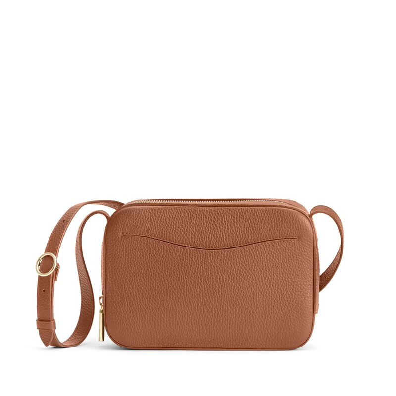 Camera Bag in Caramel