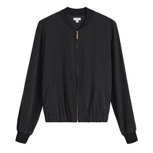 Washable Silk Bomber, , mono-gallery