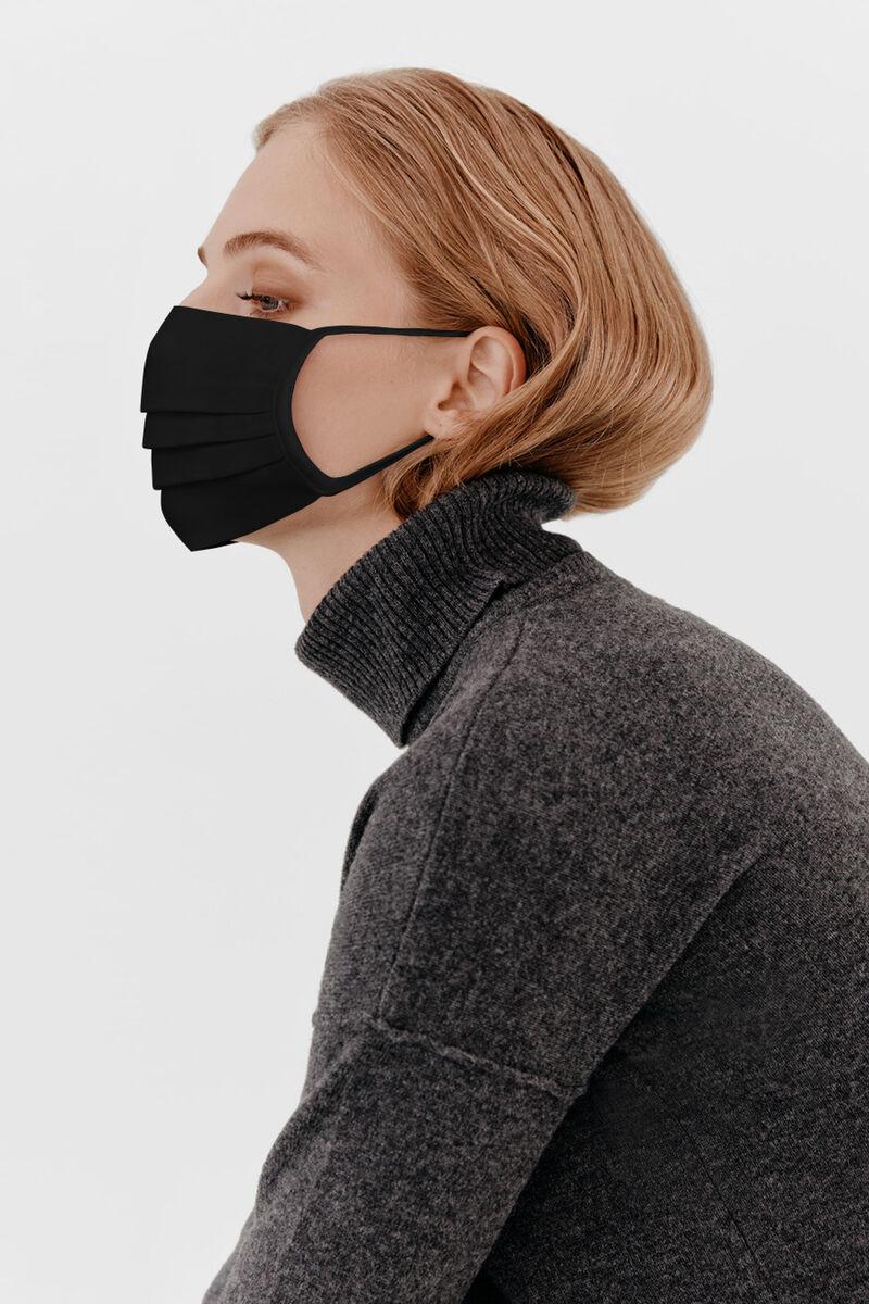 Face Mask (Set of 3) in Black
