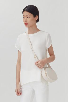 Top Handle Crossbody Bag, Ecru, plp