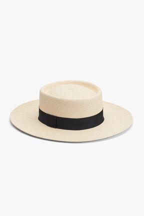 Straw Bolero Hat