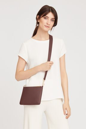 Curved Crossbody, Burgundy, plp