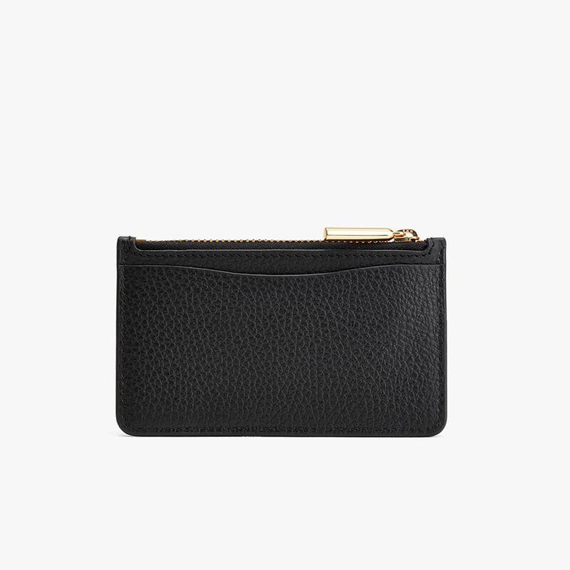Zip Cardholder in Black