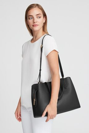 Zippered Satchel