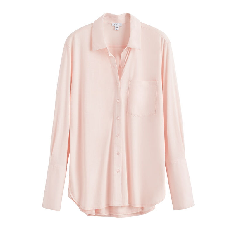 Pima Shirt in Blush