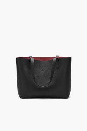 Small Structured Leather Tote