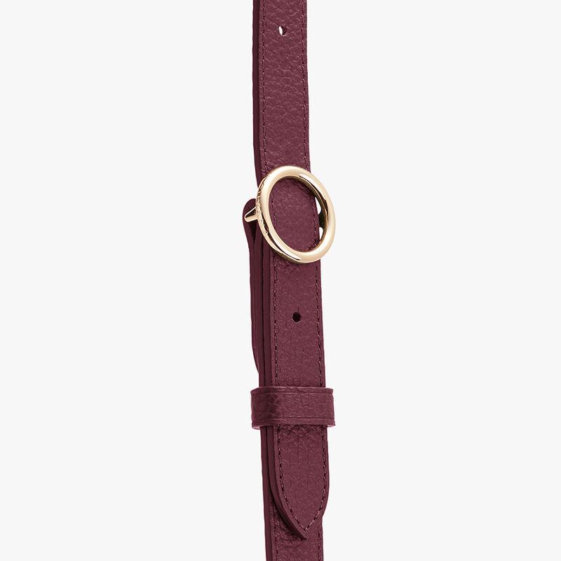 Adjustable Strap in Merlot