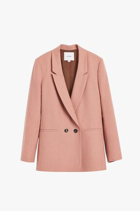 Wool Double-Breasted Blazer