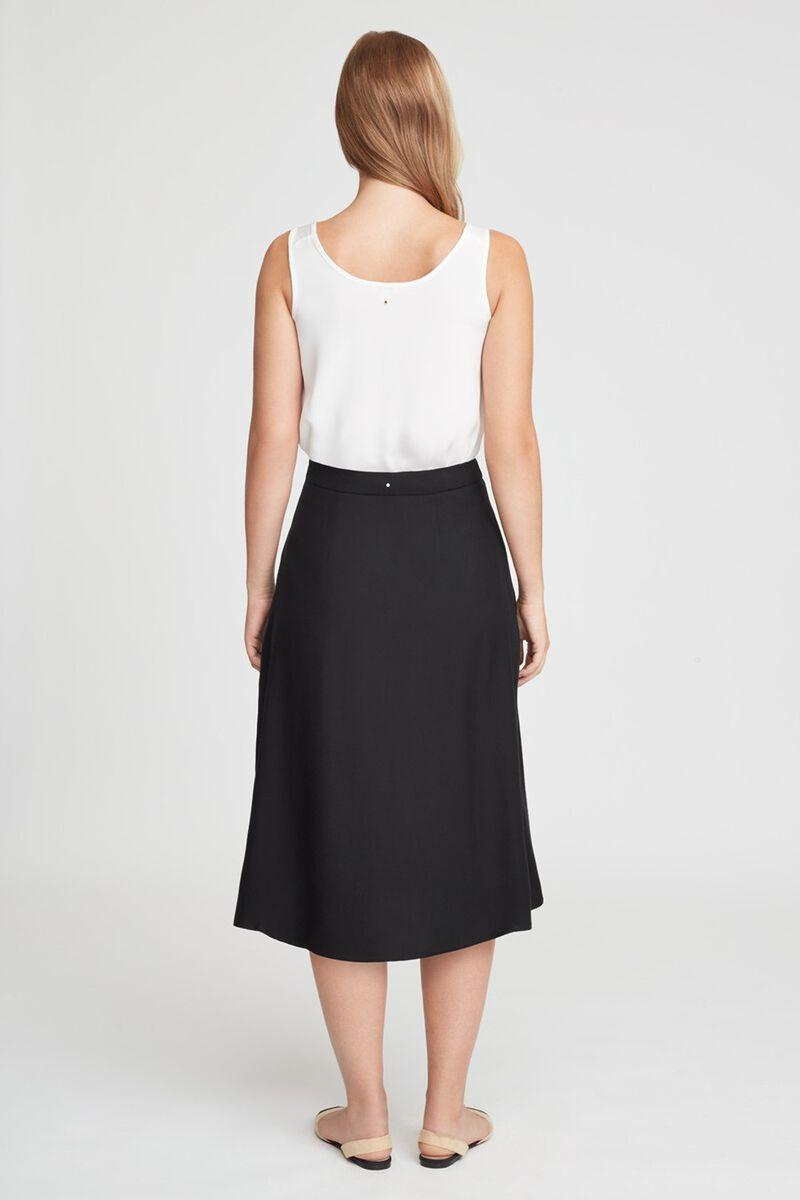 Wrap Skirt in Black