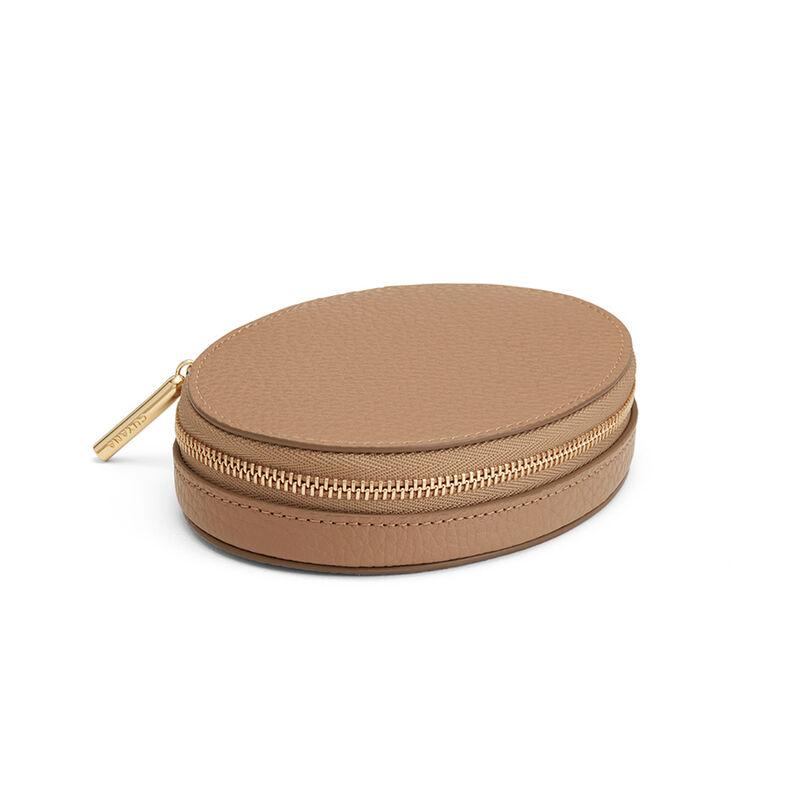 Travel Jewelry Case Cappuccino