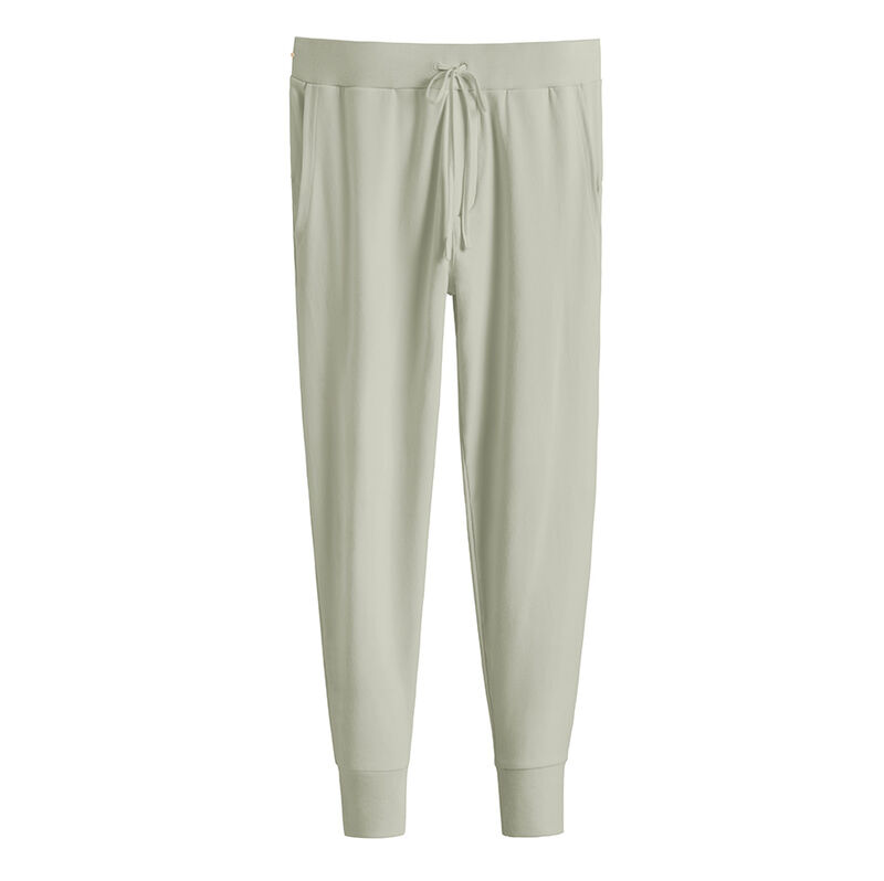 French Terry Tapered Lounge Pant in Sage