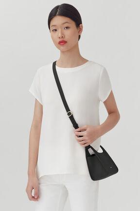 Mini Double Loop Bag, Black, plp