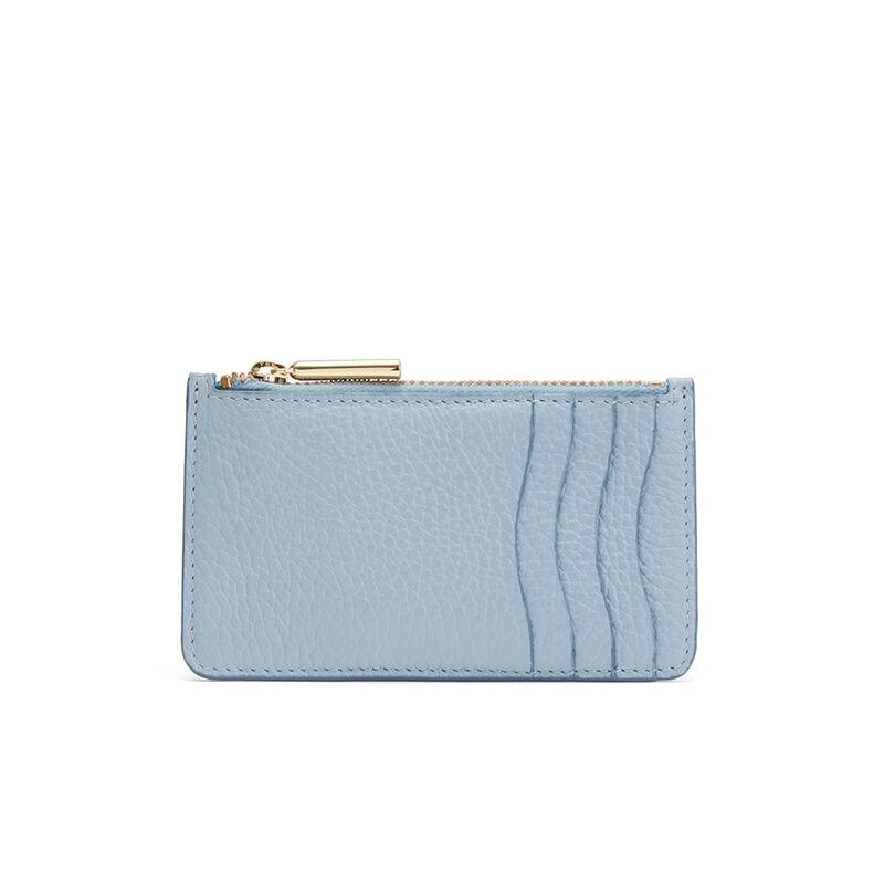 Zip Cardholder in Dusk Blue