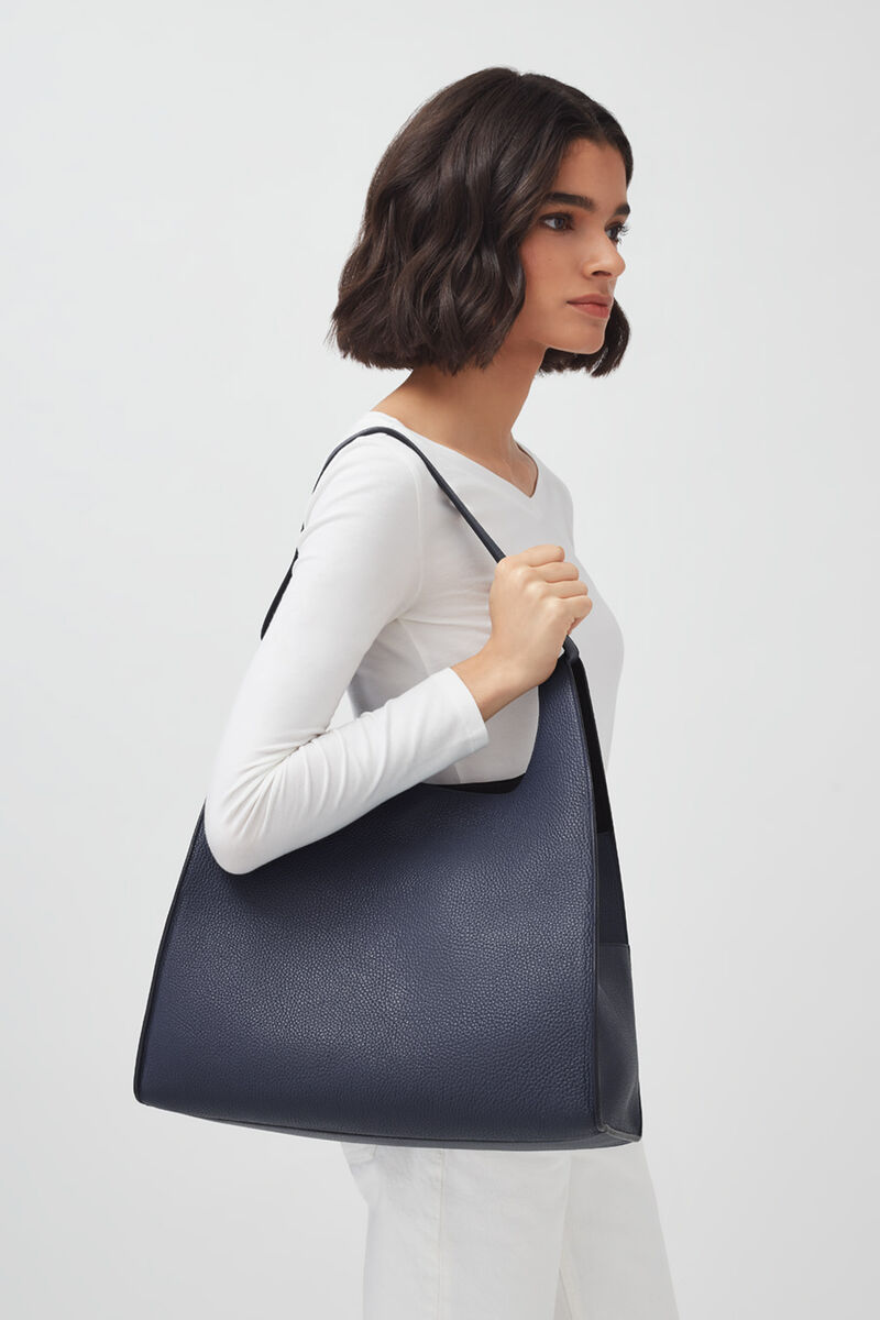 Oversized Hobo in Navy