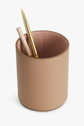 Leather Organizer Cup