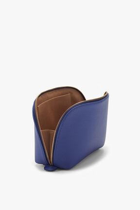 Leather Travel Case Set, Sapphire, plp