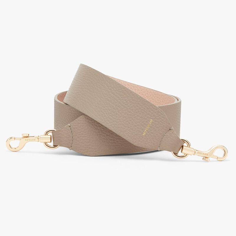 Wide Strap in Stone/Blush