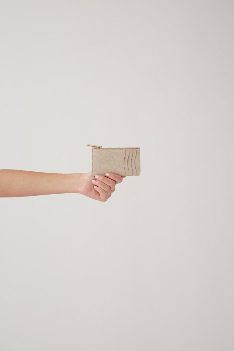 Zip Cardholder Light Stone