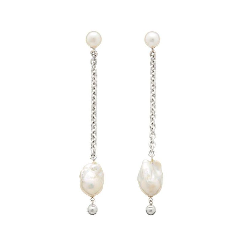 Edie Earrings in Silver