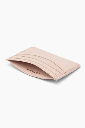 Leather Cardholder, Blush, plp
