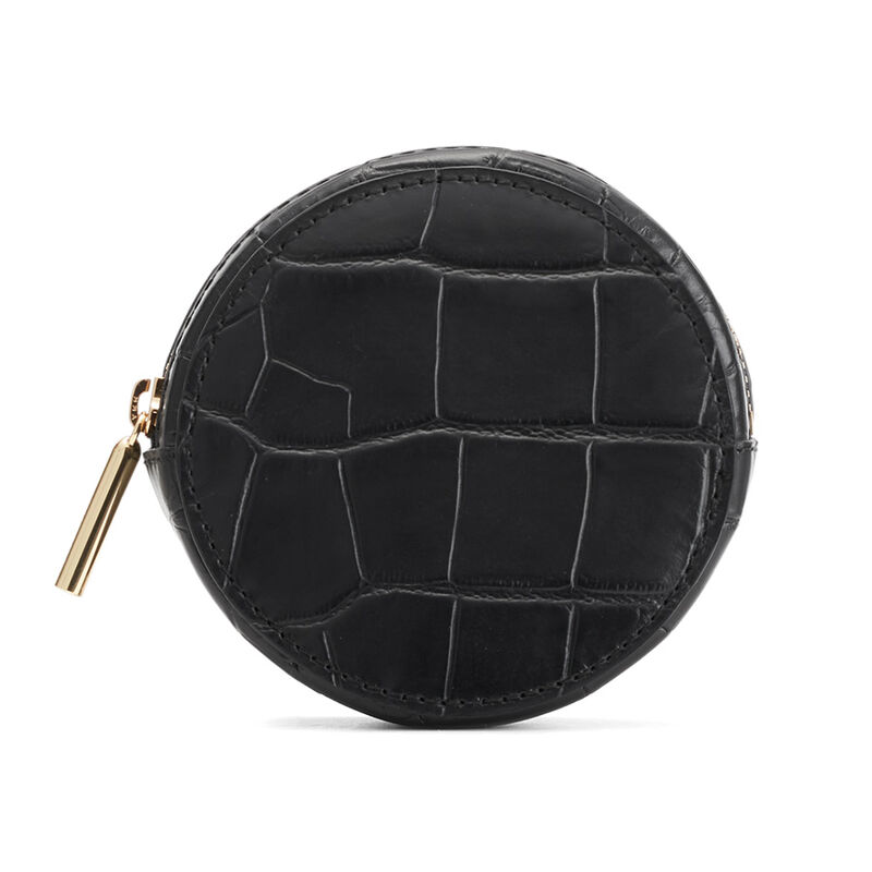 Circle Pouch Add-On, Black, large