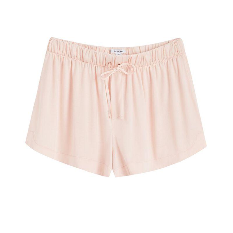 Pima Sleep Shorts in Blush