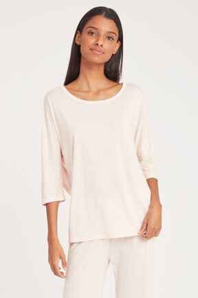 Pima Drape-Back Top