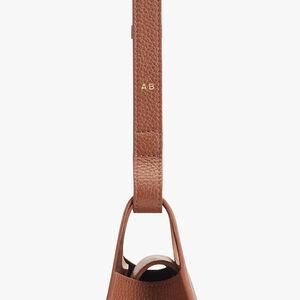 Mini Double Loop Bag, Caramel, mono-gallery