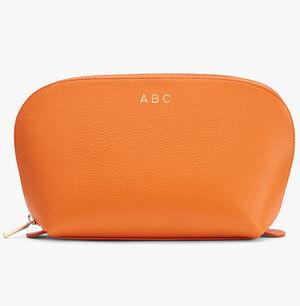 Leather Travel Case Set, Orange (Limited Edition), mono-gallery