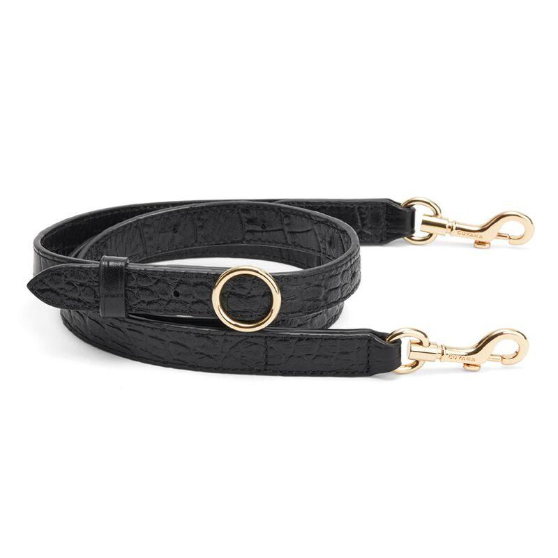 Adjustable Strap in Textured Black